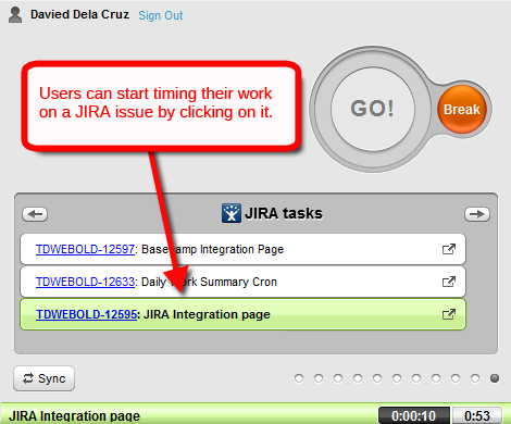 time tracking for jira with time doctor