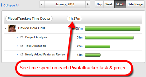 pivotal tracker time tracking