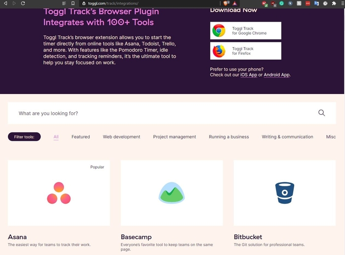 Toggl Track Integrations
