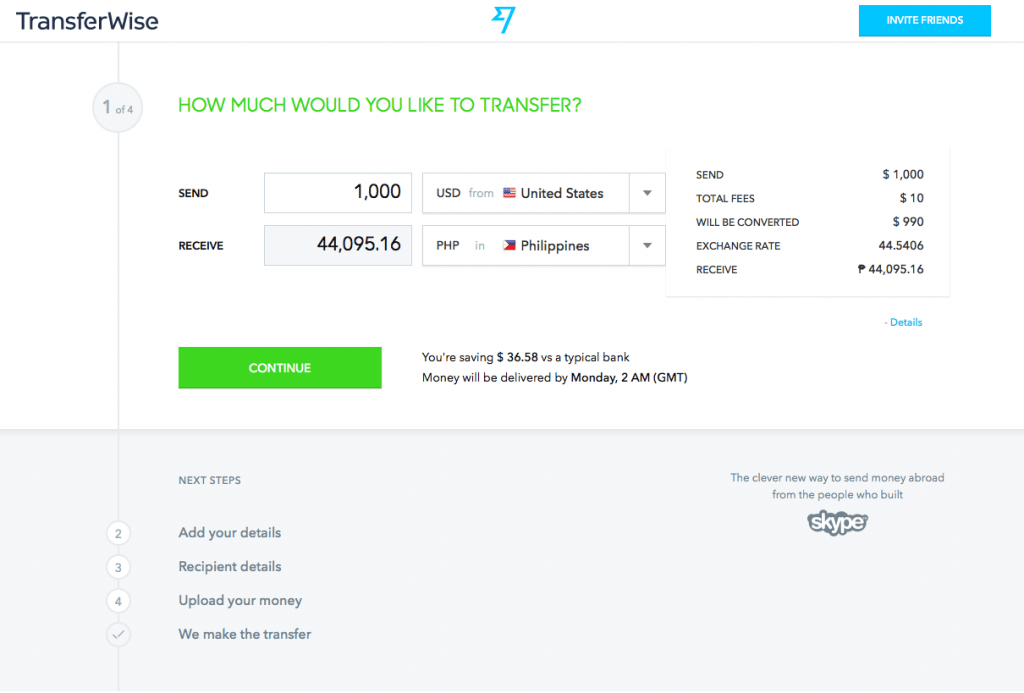 Transfer Money To The Philippines With Transferwise