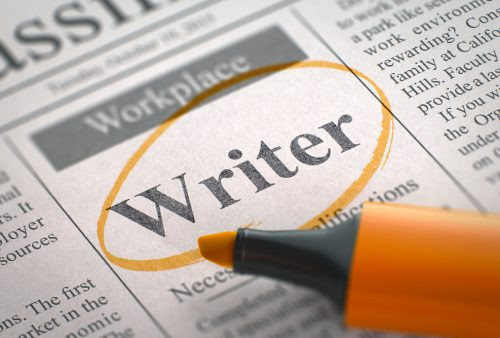 hiring writers