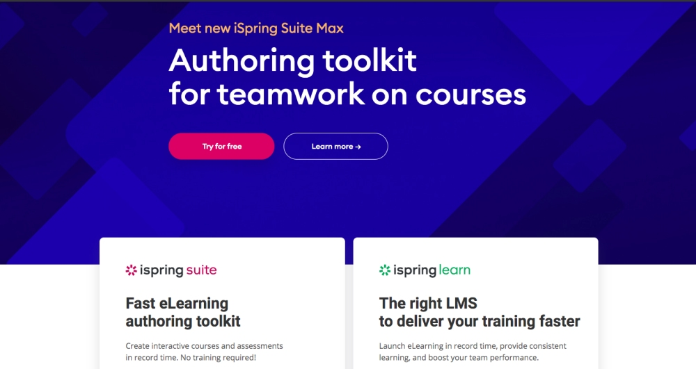 ispring for remote training