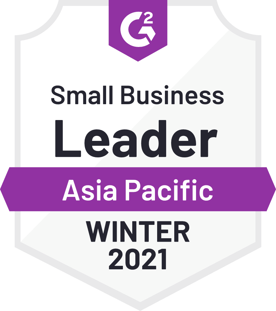 G2 SMB Leader Asia Pacific