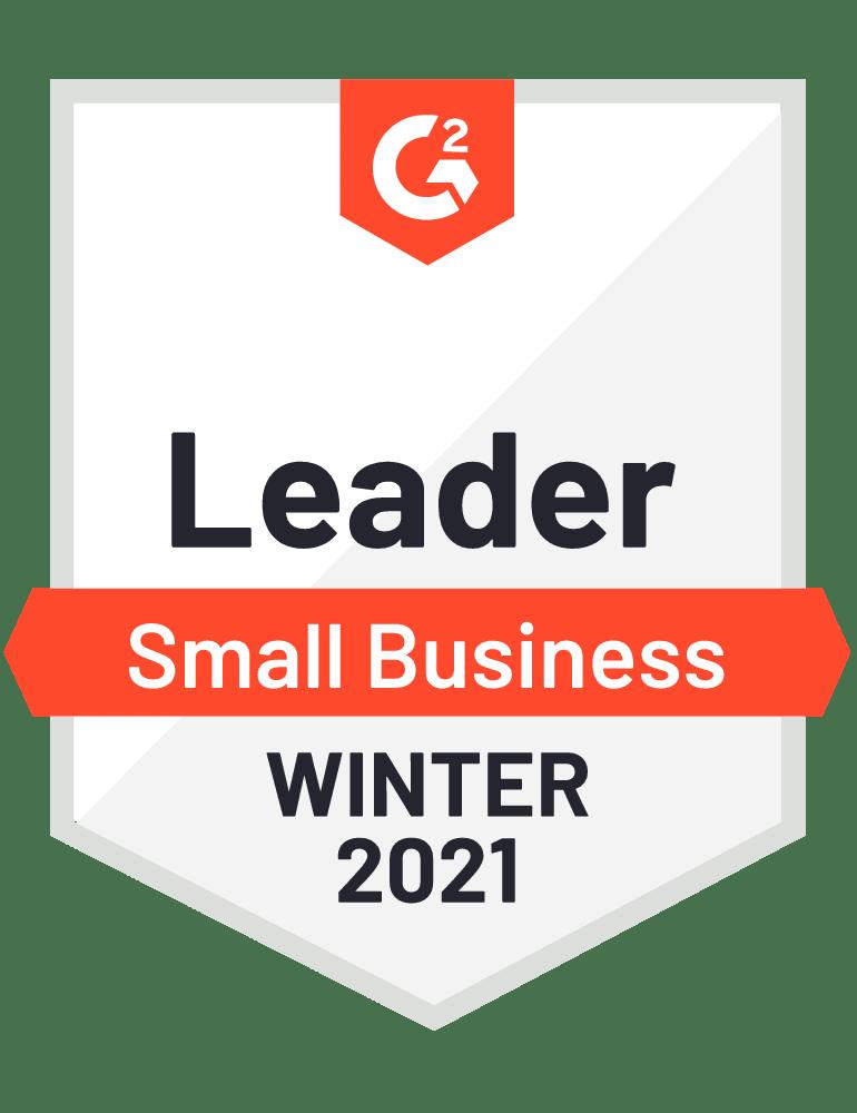 G2 SMB Leader Winter 2021