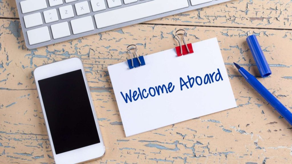 Onboarding Best Practices welcome email